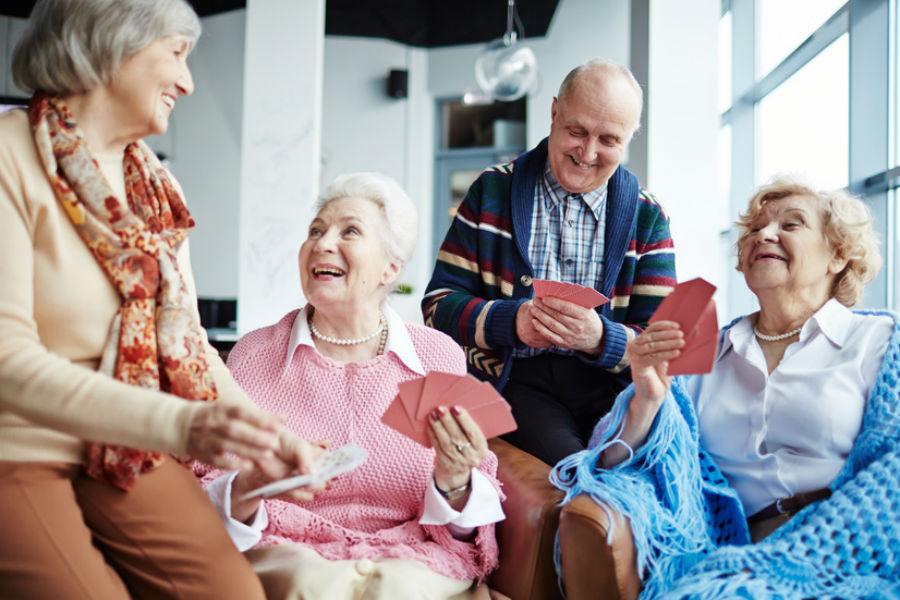 La vie en maison de retraite
