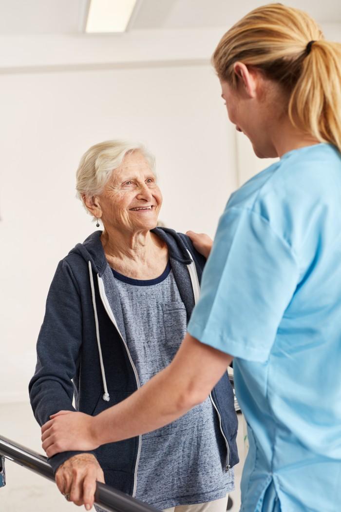 Alzheimer et le personnel spécialisé en ehpad