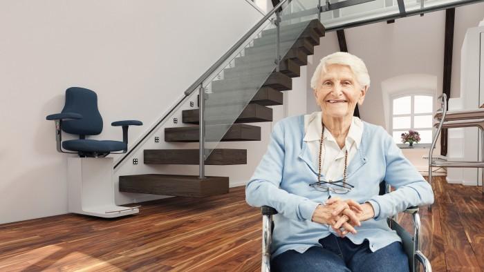 Le monte escalier, une solution pour aménager son logement